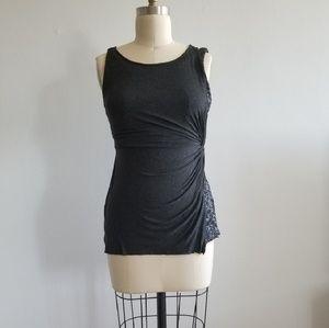 Bailey 44 sequin sleeveless knit top